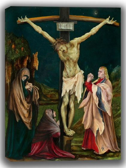 Grünewald, Matthias: The Small Crucifixion. Fine Art Canvas. Sizes: A4/A3/A2/A1 (004097)